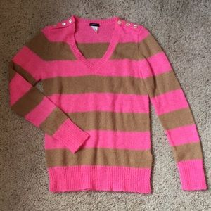 J Crew Stripe Sweater